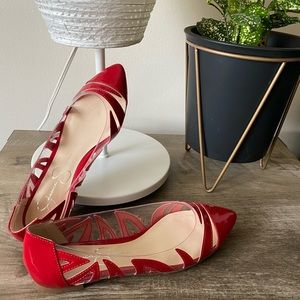Zaina Red Loafer